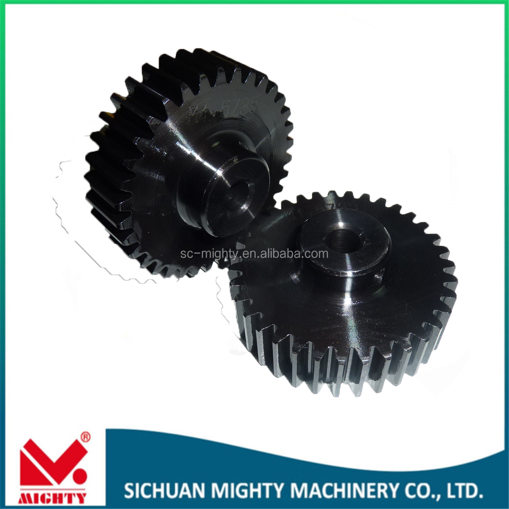 Rack gear for construction lift customized high-precision ring and pinion gear made by Mighty