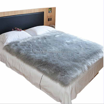 High quality Fluffy faux fur sheepskin carpet and rugs