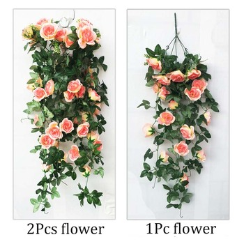 High quality rose vine artificial for wedding centerpieces and wedding decorations