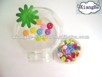 Merry Christmas decorative fancy pastel mini flat back buttons