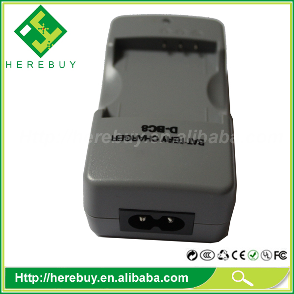 Made in China Camera Spare Parts 4.2V D-BC8 Digital Camera Li-ion Battery AC Charger for Pentax D-LI8