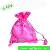 Wholesale Eco-Friendly Lace jewelry bag / satin bag / jewerly pouch
