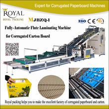 carton box making machine/ Flute Laminator For Corrugated Cardboard Production Line