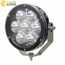 2017 Newest IP67 7inch 70w Led Spot Driving Light For Motorcycle Round Led Car