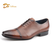 Hand made men's leader made in china offices shoes