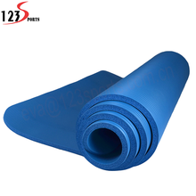 High Density Anti-tear Exercise Natural Rubber Foldable Yoga Mat With Carrying Strap