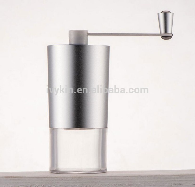 Coffee bean and tea powder grinder material stainless steel looks like a artist