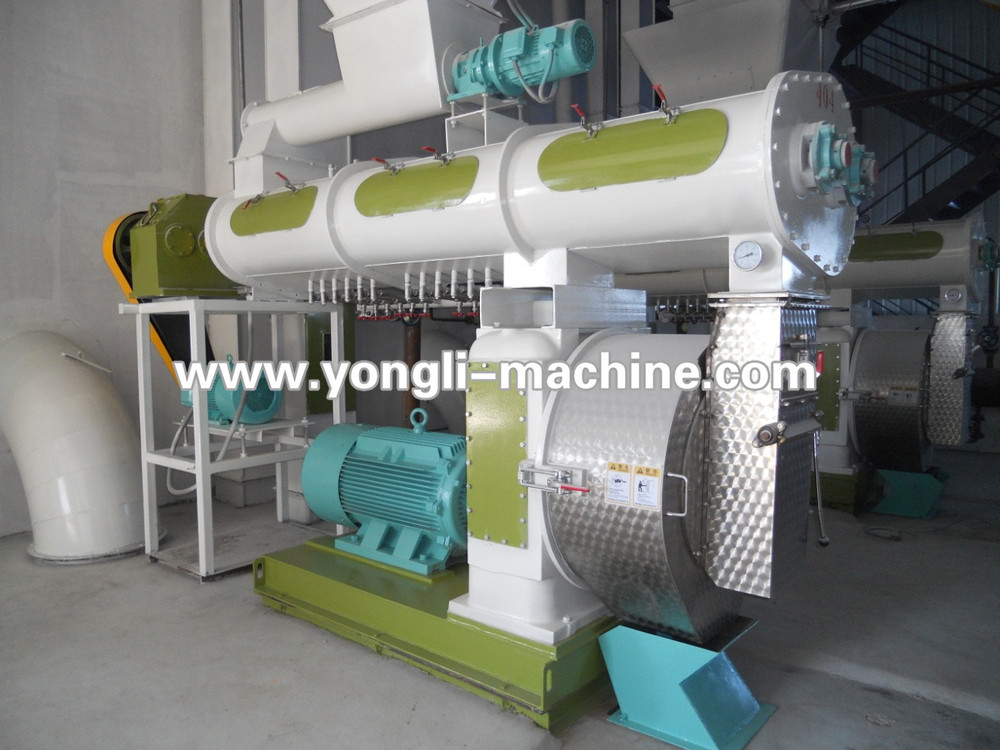 Stainless steel animal feed production line