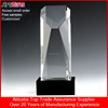 Best price custom Crystal singing trophy