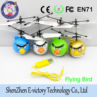 Remote Control Drone Airplane Manufacture Cheap Infrared Induction Sensor Flying Bird