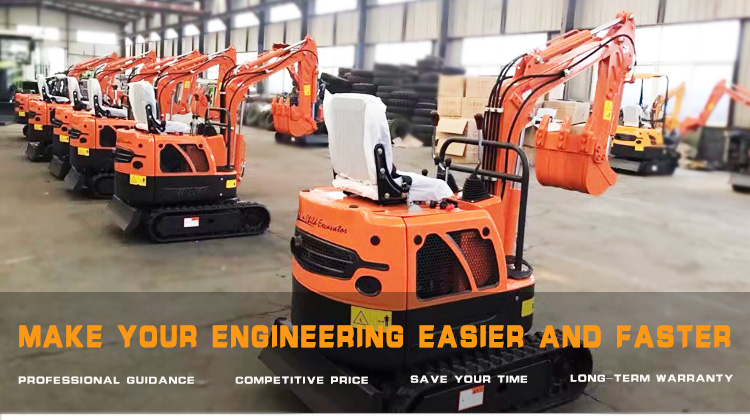 1.6 Ton China Brand Micro Digger Machine Mini Excavator Prices