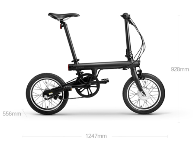 2017 hot sale folding electric bike e-bike mini 250w 36V hub motor
