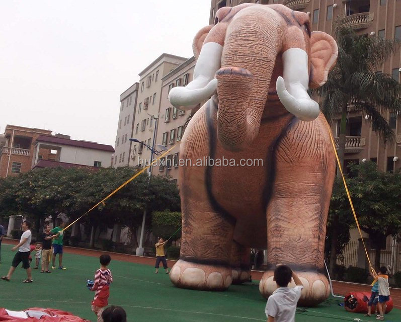 Customized advertising giant inflatable elephant inflatable animals