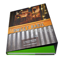 Book Product Type Offset Printing cooking book hardcover printing