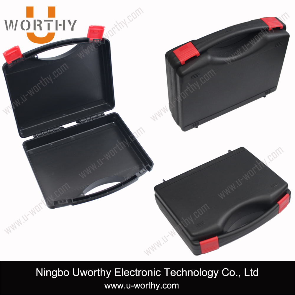 Hot sale hard plastic tool carrying case with handle