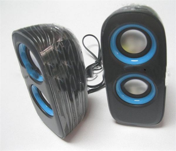 Super bass 4W computer speaker USB 2.0 desktop laptop mini speaker