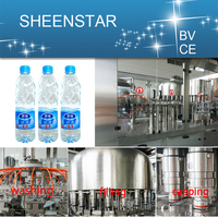 Smart PLC control water bottling filling equipment