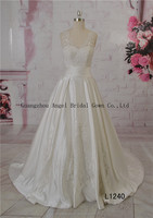 2015 new arrival arabic crystal ball gown bridal wedding gown