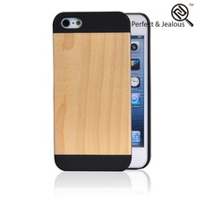 new products 2015 innovative product 3D pattern alloy wood casing for iphone 5s
