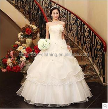 Exquisite Lace Sweetheart A Line Wedding Gowns Sleeveless Ivory Bridal weding Gowns