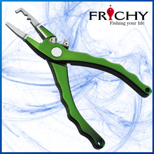 Colourful Aircraft Grade Aluminium Split Ring Floating Fishing Pliers