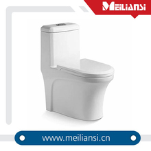 Guangdong sanitary ware manufactuer flushing colored ceramic wc toilet paper holders with a cover
