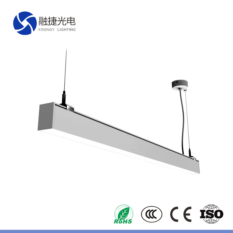 54W LED linear light tube 4ft down and up lighting OEM offer