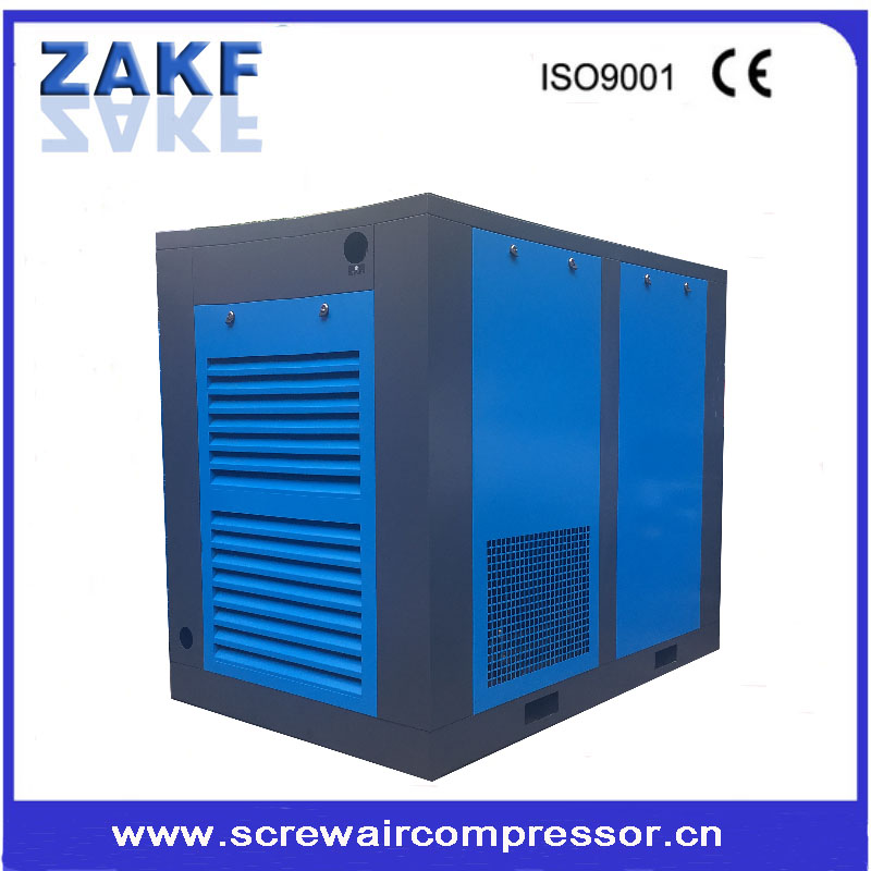7-12bar silent screw kompresor air compressor machine used in industrial