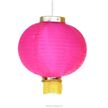 Chinese Round Silk Lanterns for Festival Decoration