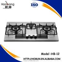 3 Burner Gas Stove , table top or built in