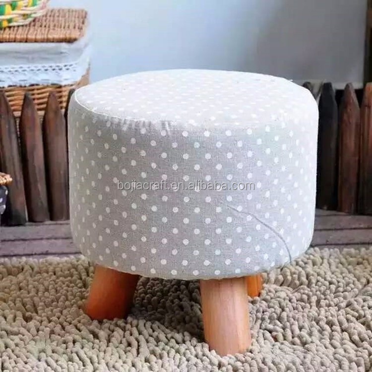 solid wood handmade eco-freindly fancy child wood stool
