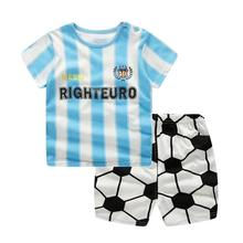 Wholesale high quality heyouj2 baby clothes cartoon 100% cotton baby boy short pyjamas