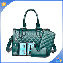 xh19512 top selling 4 pcs sets bag wholesale women handbag set purse and handbag