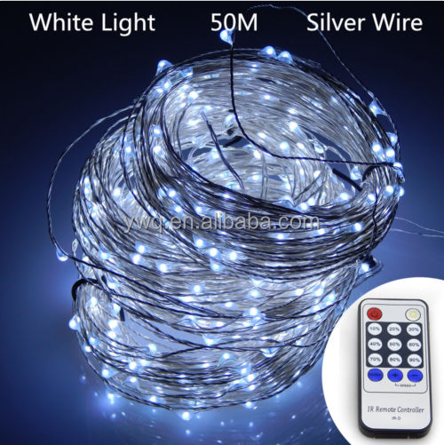 Battery Powered Copper Wire 30Led String Fairy Light 3M/10FT blue with contraller