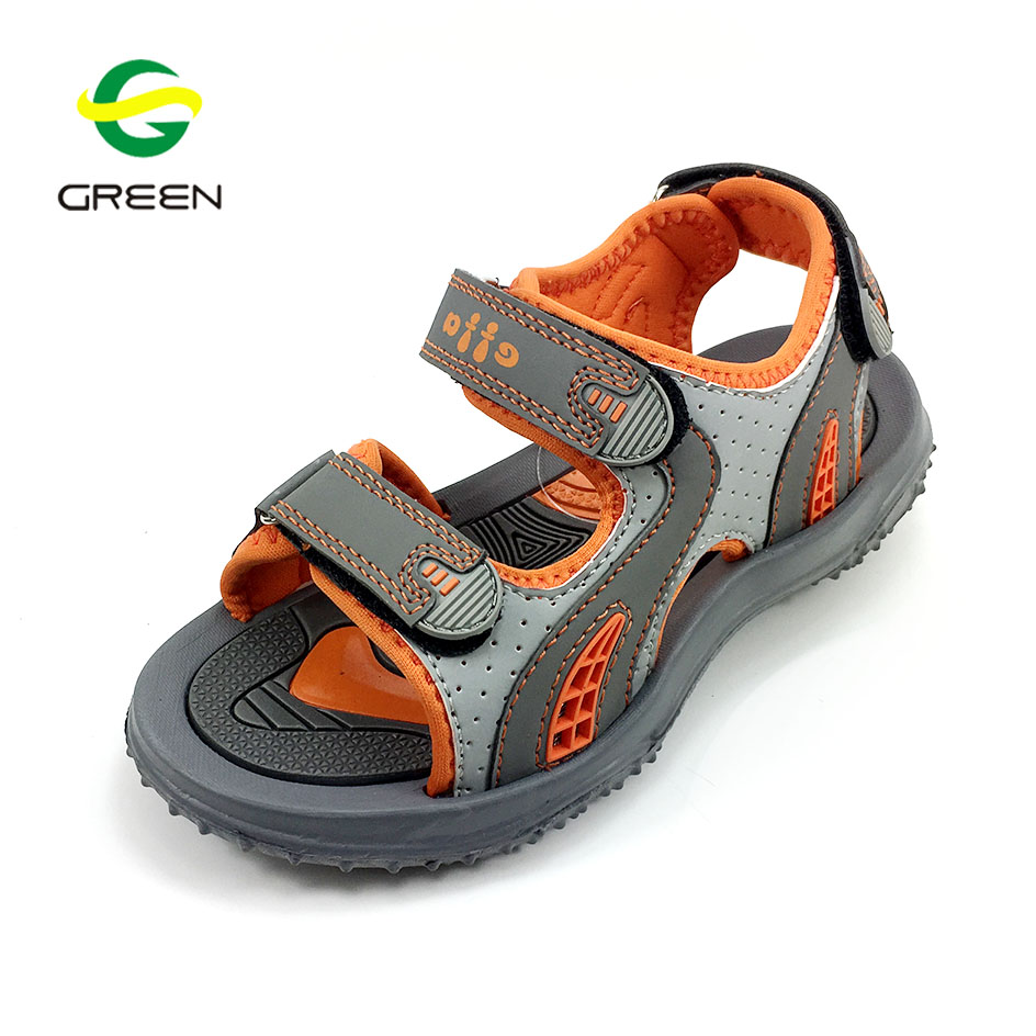 2017 China wholesale cheap kids sandals eva pvc shoes
