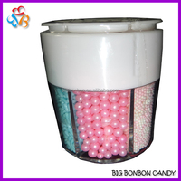 6 compartment Jar Cake Sprinkle Candy