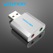 Vention Sound Card 5.1 Channel 3D Studio USB Sound Card 4.1 Android External Sound Card For Windows Chrome Headset USB Headphone