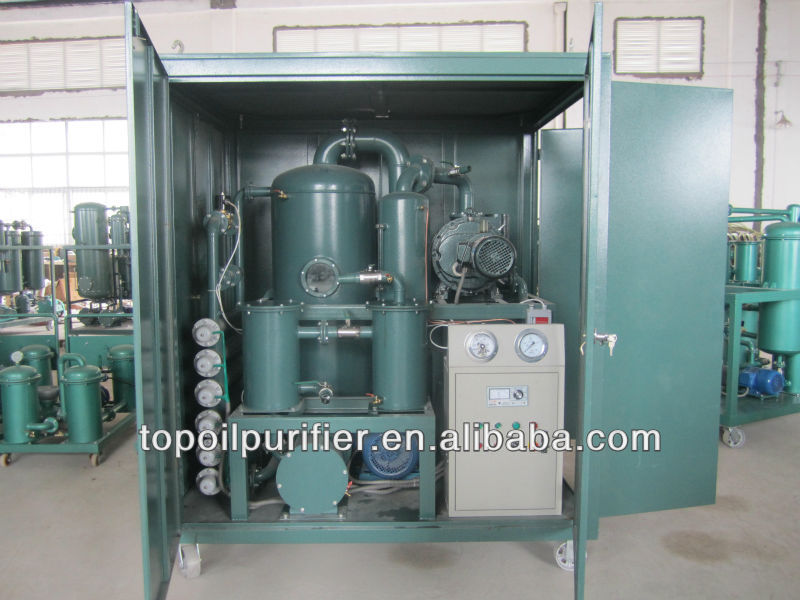 insulation oil purifier series ZYD, oil reclaiming, oil regeneration