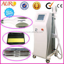 Au-S500 Factory promotion! OPT SHR hair removal machine