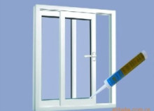 Silicone main raw material construction usage acetoxy and neutral GP silicone sealant used for glass window and door