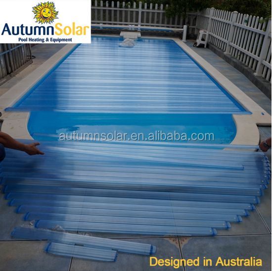 High quality plastic solar water heater collectors