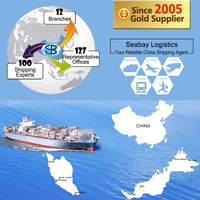 Sea/Ocean Freight Forwarding Services to Malaysia from China Shenzhen Guangzhou Shanghai Ningbo Qingdao Tianjin Xiamen