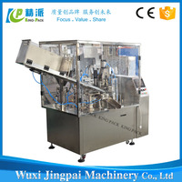 grease tube filling and machine tube filler and sealer with coding system for petroleum jelly