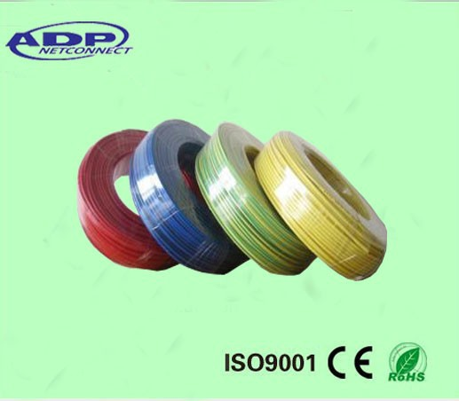 2015 China specialized manufacturer custom colored PVC 100m/roll xlpe high quality power cable electrical cable