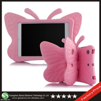 Samco Kids Light Weight Cute Butterfly Design Shock Proof Protective Case for iPad 2/3/4