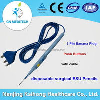 electrotome Diathermy Cautery electrode ESU pencil for medical Electrocautery 401a