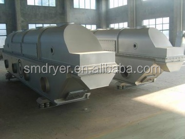 Fluid drying bed machine of malic acid