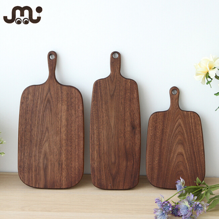 Rustic deluxe one piece unfinished walnut cutting board