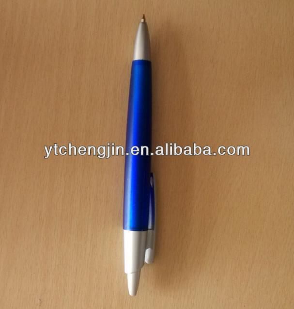 blue pen/blue color black ink ball pen