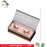 custom logo printing Available False Eyelash Packaging Box Eyelash Storage Custom Design Boxes